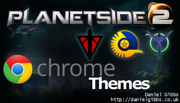 Google Chrome Themes: Planetside 2
